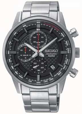 Seiko Bracelet en acier inoxydable chronographe sport urbain homme SSB313P1