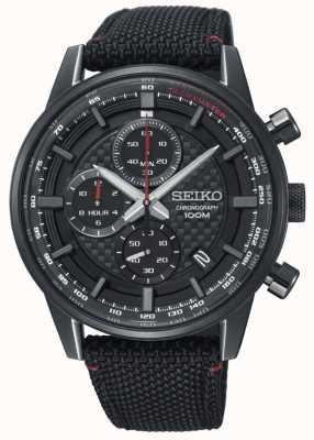 Seiko Bracelet en nylon chronographe sport urbain homme SSB315P1