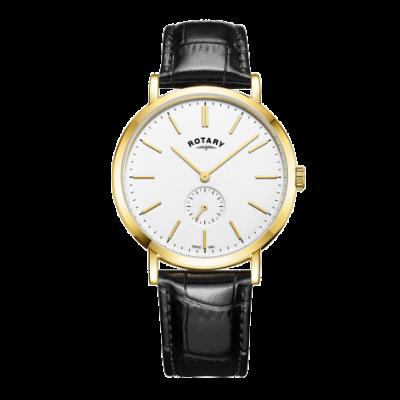 Rotary Montre à bracelet en cuir pour homme GS05313/02