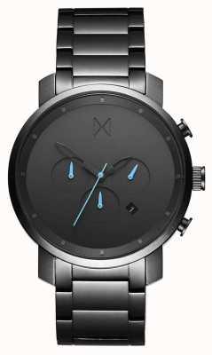MVMT Chrono gunmetal 45 mm | bracelet pvd | cadran gris D-MC01-GU