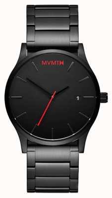 MVMT Maillon noir classique | pvd noir | cadran noir D-L213.5B.551