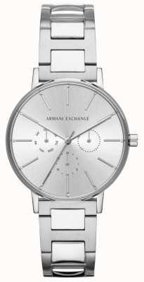 Armani Exchange Montre chronographe lola en acier inoxydable pour femme AX5551