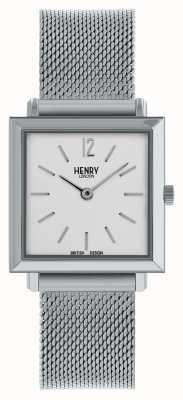 Henry London Maille carrée argent HL26-QM-0265