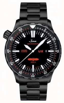 Sinn Ux s gsg 9 pvd bracelet 5000m résistant à l'eau 403.062 PVD BRACELET