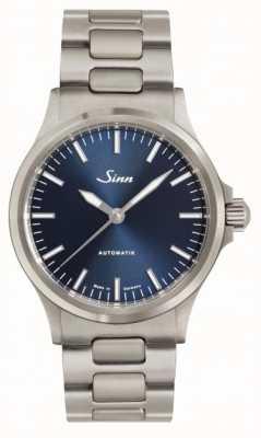Sinn 556 bracelet en métal cadran bleu ib 556.0104 LINK BRACELET