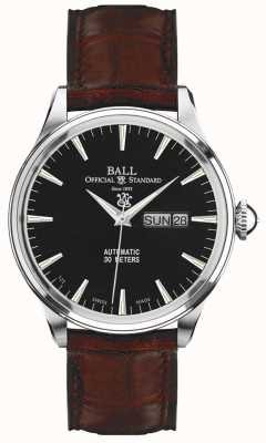 Ball Watch Company Trainmaster eternity affichage du jour et de la date NM2080D-LJ-BK