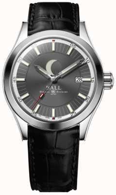 Ball Watch Company Ingénieur ii date de la phase de lune affichage cadran gris NM2282C-LLJ-GY