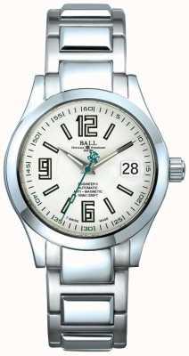 Ball Watch Company Ingénieur II affichage automatique de la date cadran blanc anti-magnétique NM1020C-S4-WH