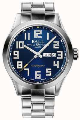 Ball Watch Company Ingénieur iii starlight cadran bleu en acier inoxydable édition limitée NM2182C-S9-BE1