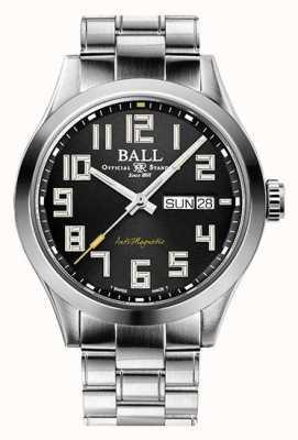 Ball Watch Company Ingénieur iii starlight cadran noir en acier inoxydable édition limitée NM2182C-S9-BK1