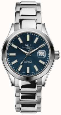 Ball Watch Company Ingénieur ii marvelight automatique affichage de la date de cadran bleu NM2026C-S6-BE