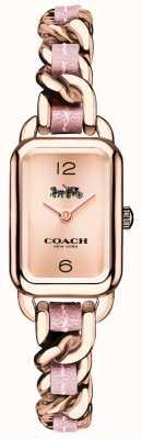 Coach Montre femme en or rose et bracelet rose 14502844