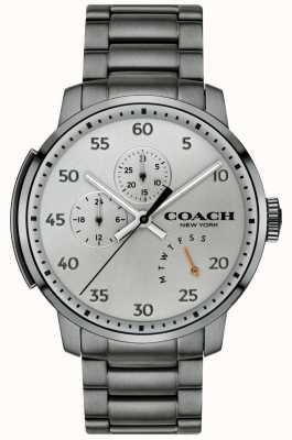 Coach Montre multifonction homme gris 14602360