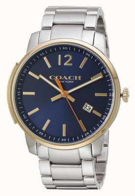 Coach Cadran bleu slim pour homme 14602342