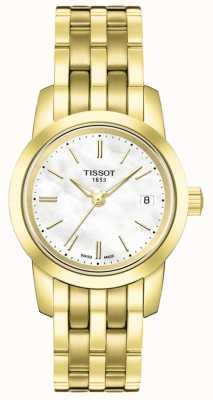 Tissot Bracelet en plaqué or pour femme T0332103311100