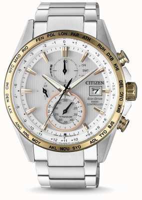 Citizen Horloge universelle en acier inoxydable AT8156-87A