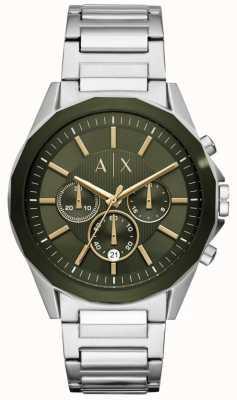Armani Exchange Drexler mens chronographe en acier inoxydable AX2616