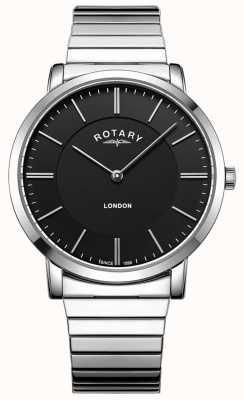 Rotary Montre bracelet en acier inoxydable pour homme GB02765/04