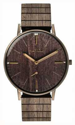 WeWood Pistolet Albacore en chêne noir | bracelet en bois | 70370070000