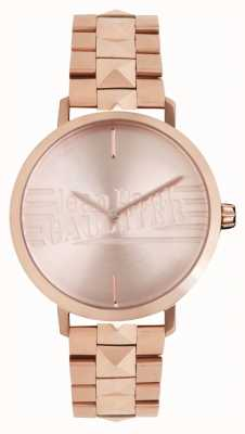 Jean Paul Gaultier Montre bracelet bad girl rose doré pour femme 8505701