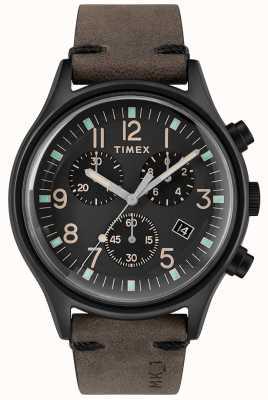 Timex Mens mk1 sst chrono cadran noir cadran noir 42mm TW2R96500