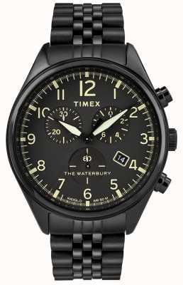 Timex Waterbury montre chronographe traditionnelle noire TW2R88600D7PF