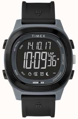 Timex Iron Man Essential Black Watch avec affichage négatif TW5M19000SU