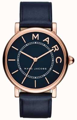 Marc Jacobs Montre classique marc jacobs femme en cuir bleu marine MJ1534