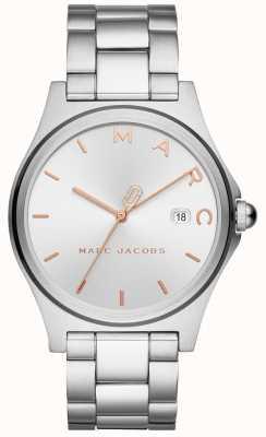 Marc Jacobs Montre femme henry argentée MJ3583
