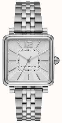 Marc Jacobs Montre femme vic bracelet argenté cadran carré MJ3461
