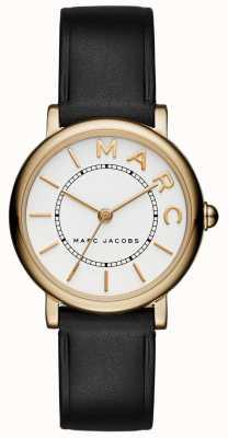 Marc Jacobs Montre classique marc jacobs pour femme en cuir noir MJ1537