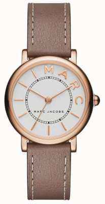 Marc Jacobs Montre classique marc jacobs pour femme en cuir gris MJ1538