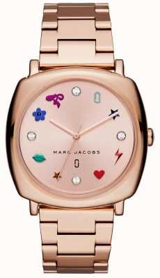 Marc Jacobs Montre femme mandy rose doré MJ3550