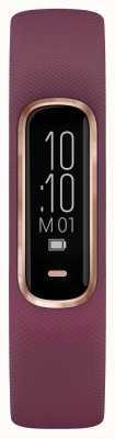 Garmin Vivosmart 4 hr ox traqueur petit / moyen violet rose boîtier en or 010-01995-01