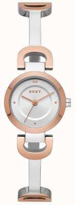 DKNY Montre bracelet en acier inoxydable pour femme NY2749