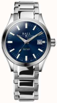 Ball Watch Company Cadran bleu en acier inoxydable 40 mm Engineer M Marvelight pour homme NM2032C-S1C-BE