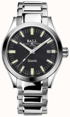 Ball Watch Company Montre Engineer M Marvelight 40 mm en acier inoxydable à cadran gris NM2032C-S1C-GY