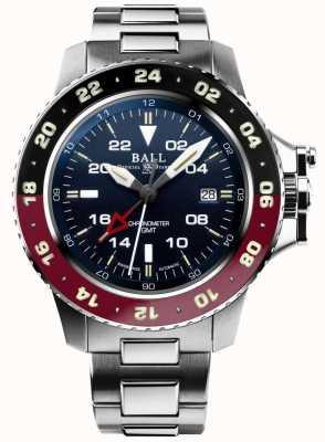 Ball Watch Company Ingénieur d'hydrocarbure aerogmt ii 42mm cadran bleu DG2018C-S3C-BE