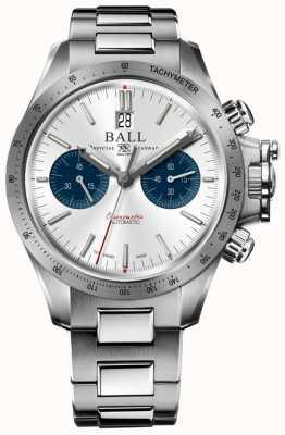 Ball Watch Company Cadran argenté chronographe 42mm CM2198C-S2CJ-SL