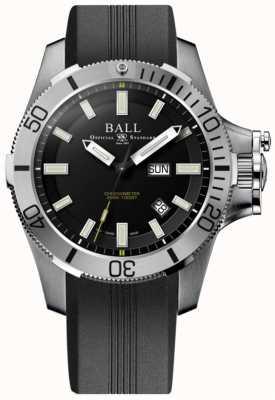 Ball Watch Company Bracelet en caoutchouc pour guerre sous-marine de 42 mm DM2276A-PCJ-BK