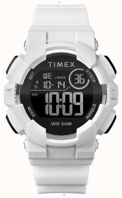 Timex Sacoche blanche pour femme, 44 mm TW5M23700