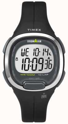 Timex Essentials Ironman Femme 10 noir et chrome TW5M19600