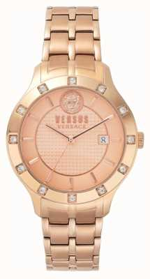 Versus Versace Bracelet femme en or rose avec cadran en or rose SP46040018