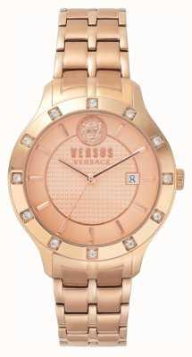 Versus Versace Bracelet pvd femme cadran or rose brackenfell pour femme SP46040018