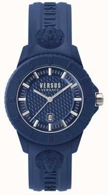 Versus Versace Tokyo r bleu cadran bleu silicone SPOY210018