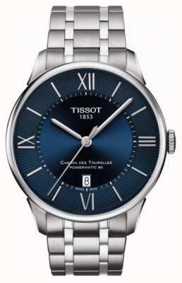 Tissot Mens chemin des tourelles powermatic 80 inox T0994071104800