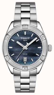 Tissot Femme PR 100 Sport Chic 36mm Acier Inoxydable Bleu T1019101112100