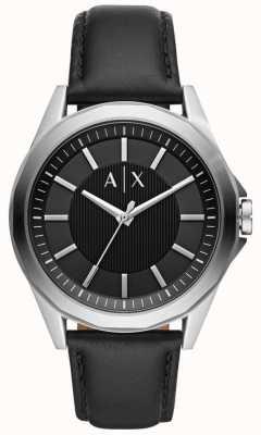 Armani Exchange Bracelet homme montre bracelet noir AX2621
