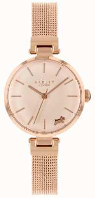 Radley Montre femme bracelet bracelet en or rose RY4360