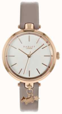 Radley Montre femme bracelet en cuir d'araignée boîtier en or rose RY2728